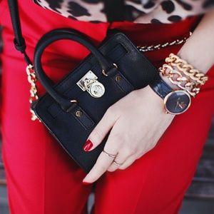 Michael Michael Kors Mini Hamilton Crossbody Bag